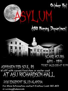 Nursing Department Haunted Asylum